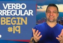 verbo irregular begin