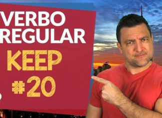 verbo irregular keep