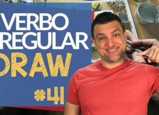 verbo irregular draw