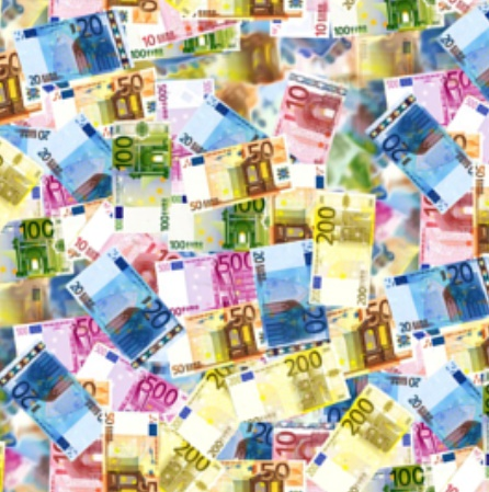 Euro Bills by Stofftoy