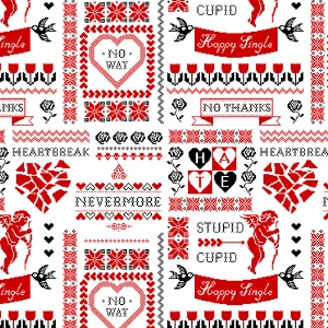 Stupid Cupid Fabric