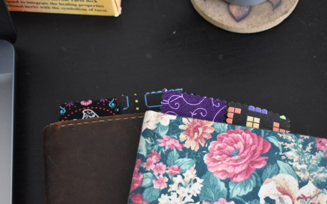 Easy Fabric Bookmarks