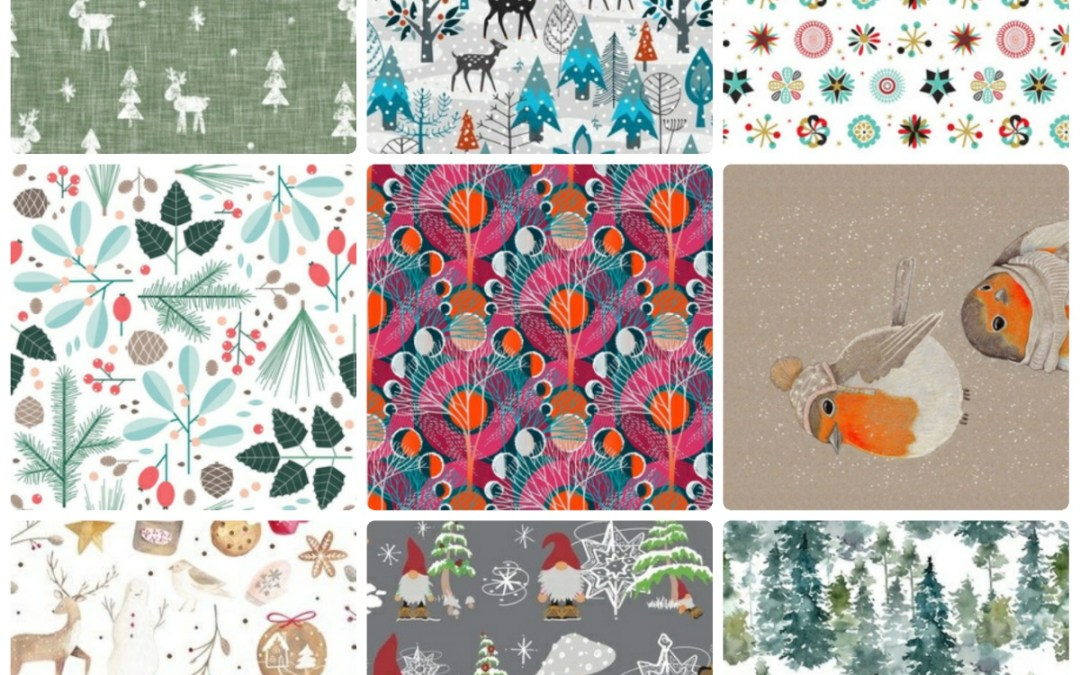 Fabric Magick: 9 Designs from Spoonflower for the Winter Solstice