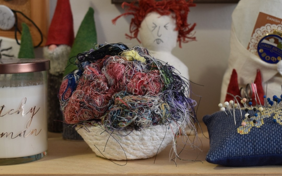 Sew Craft: Magickal Uses for Leftover Thread
