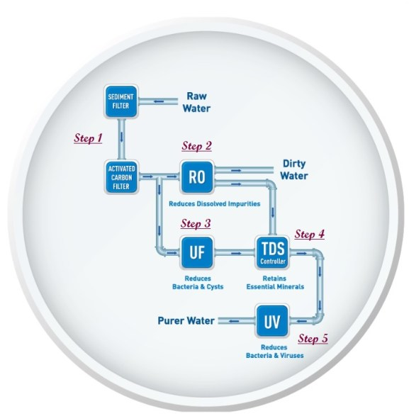 How do RO Process and TDS controller work? > Best Water Purifier in India