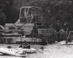 First bulldozer and duckies