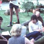 L to R: Jenny Scott (far left), Deni Greene)