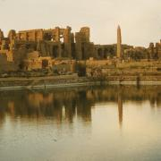 The sacred Lake at Karnak
