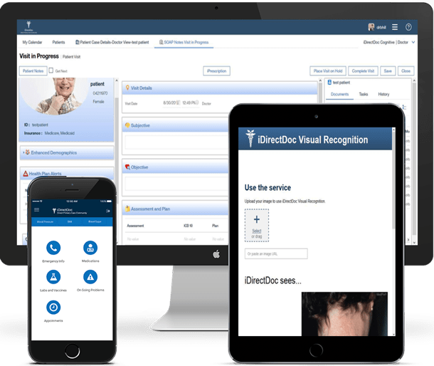 iDirectDoc platform on various devices