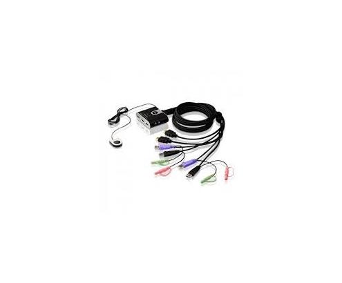 CABLE ATEN DATA SWITCH KVM USB HDMI NEGRO CS692-AT en Idirecto