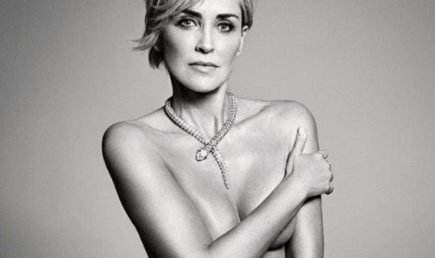 Η Σάρον Στόουν ποζάρει γυμνή στα 57 της, με κορμί 19χρονης!