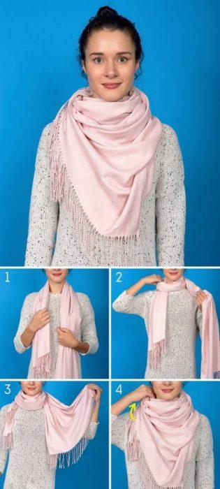 8 Κομψοί Τρόποι για να Πετύχετε την Τέλεια Φθινοπωρινή Εμφάνιση φορώντας το Αγαπημένο σας Φουλάρι! 3