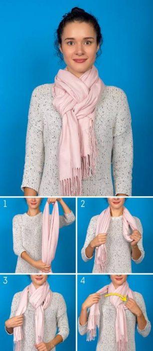 8 Κομψοί Τρόποι για να Πετύχετε την Τέλεια Φθινοπωρινή Εμφάνιση φορώντας το Αγαπημένο σας Φουλάρι! 5