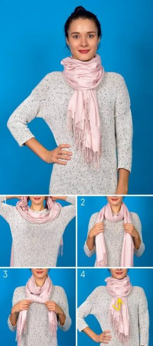 8 Κομψοί Τρόποι για να Πετύχετε την Τέλεια Φθινοπωρινή Εμφάνιση φορώντας το Αγαπημένο σας Φουλάρι! 7