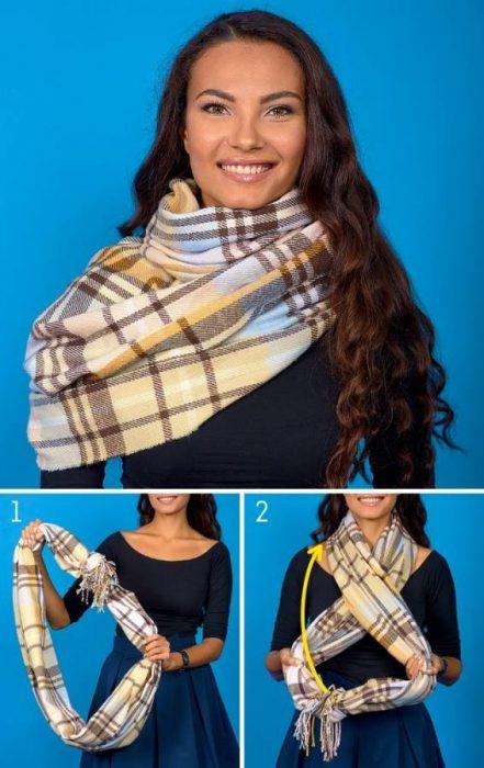 8 Κομψοί Τρόποι για να Πετύχετε την Τέλεια Φθινοπωρινή Εμφάνιση φορώντας το Αγαπημένο σας Φουλάρι! 8