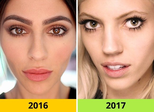 10 Τάσεις στα Μαλλιά και το Μακιγιάζ που ήταν Φέτος στη Μόδα αλλά το 2017 θα Θεωρούνται ξεπερασμένες. 3