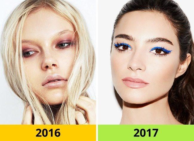 10 Τάσεις στα Μαλλιά και το Μακιγιάζ που ήταν Φέτος στη Μόδα αλλά το 2017 θα Θεωρούνται ξεπερασμένες. 4