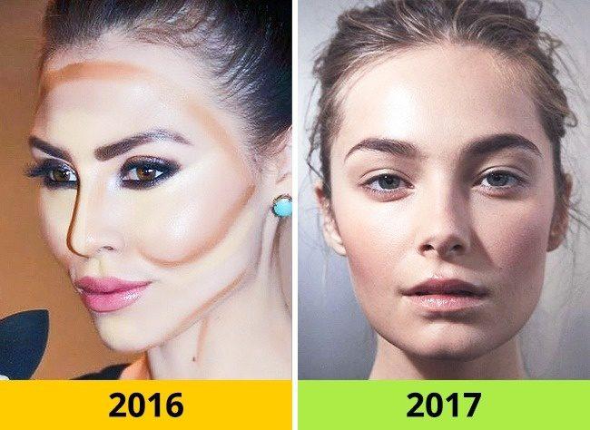 10 Τάσεις στα Μαλλιά και το Μακιγιάζ που ήταν Φέτος στη Μόδα αλλά το 2017 θα Θεωρούνται ξεπερασμένες. 5