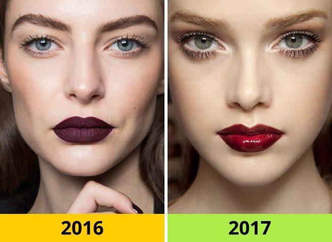 10 Τάσεις στα Μαλλιά και το Μακιγιάζ που ήταν Φέτος στη Μόδα αλλά το 2017 θα Θεωρούνται ξεπερασμένες. 6