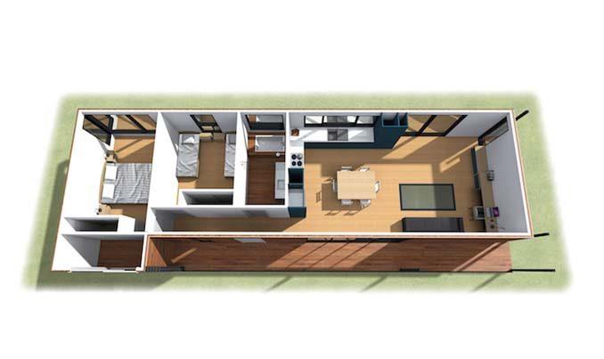 Αυτή η παραθαλάσσια «πράσινη» κατοικία κατασκευάστηκε σε 6 εβδομάδες 14