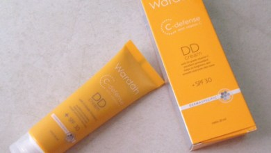 review DD cream Wardah