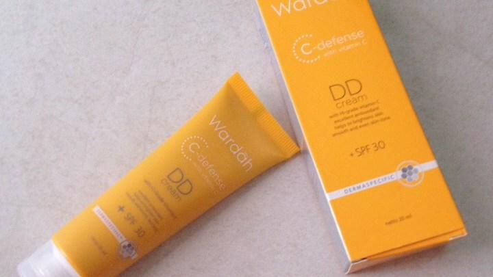 review DD cream Wardah