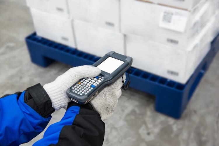 warehouse freezer labels