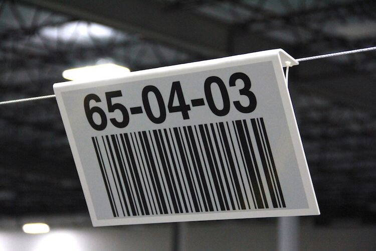 Warehouse Signs  Aisle Bulk Zone Safety  Dock  ID