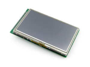 "4.3"" Touchscreen LCD Display"