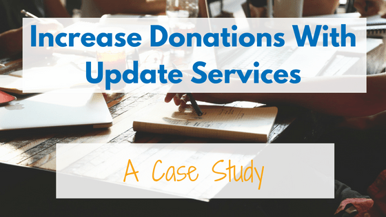 Increase donations with update services. See how Huntington University saw a 35% positive response from their updated phone numbers.