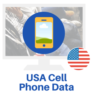 Use the USA Cell Phone Data List to create a marketing program to target neighborhoods where you recently completed work.
