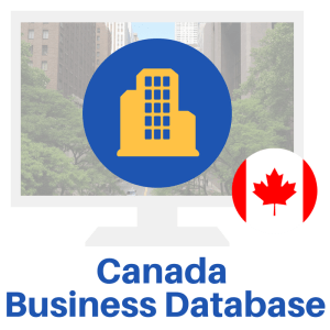 Create unlimited business lists with the Canada Business Database. Use this database to make lists for your direct mail campaigns, and telemarketing.