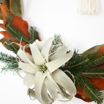 Diy Boho Winter Hula Hoop Wreath Idle Hands Awake