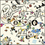 Led Zeppelin III album cover.