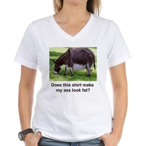 Dodge the worst question there is with this shirt