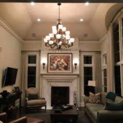 Living Room Lighting Fixtures Spotlights Ideas Home At Idlewood Lake Forest Family Space