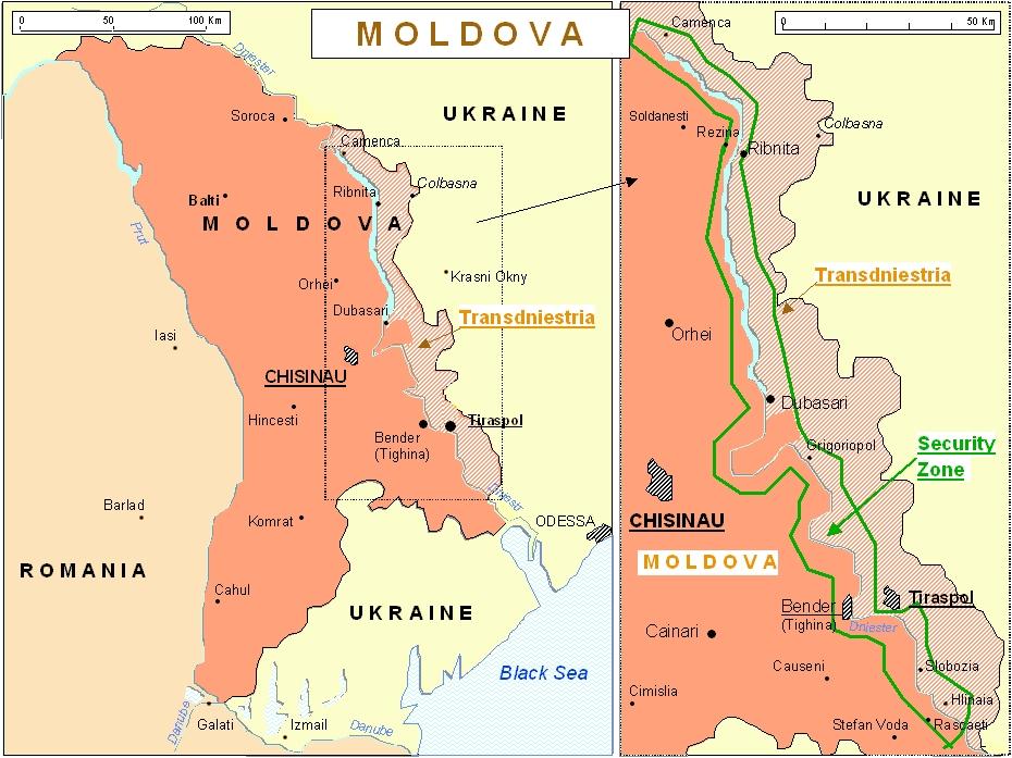 Image result for transnistria map