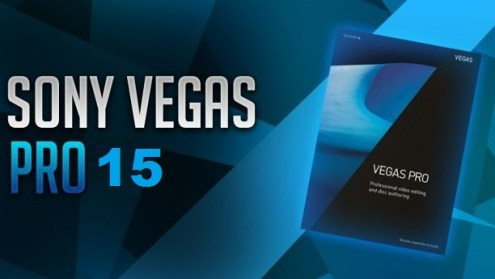 Sony Vegas Pro 15 Crack