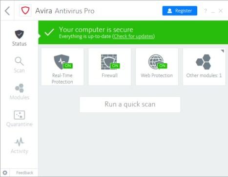 Avira Antivirus Pro License File
