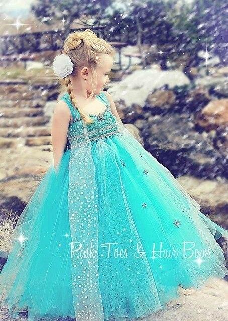 vestidos de princesa elsa de frozen