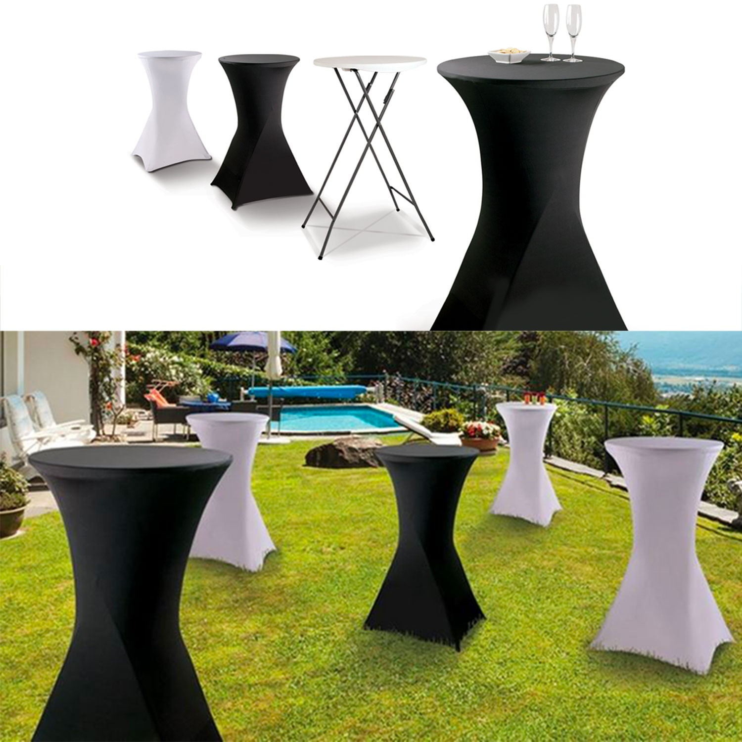 Table Haute Jardin Pliante Table De Bar Pliante Haute Mange Debout