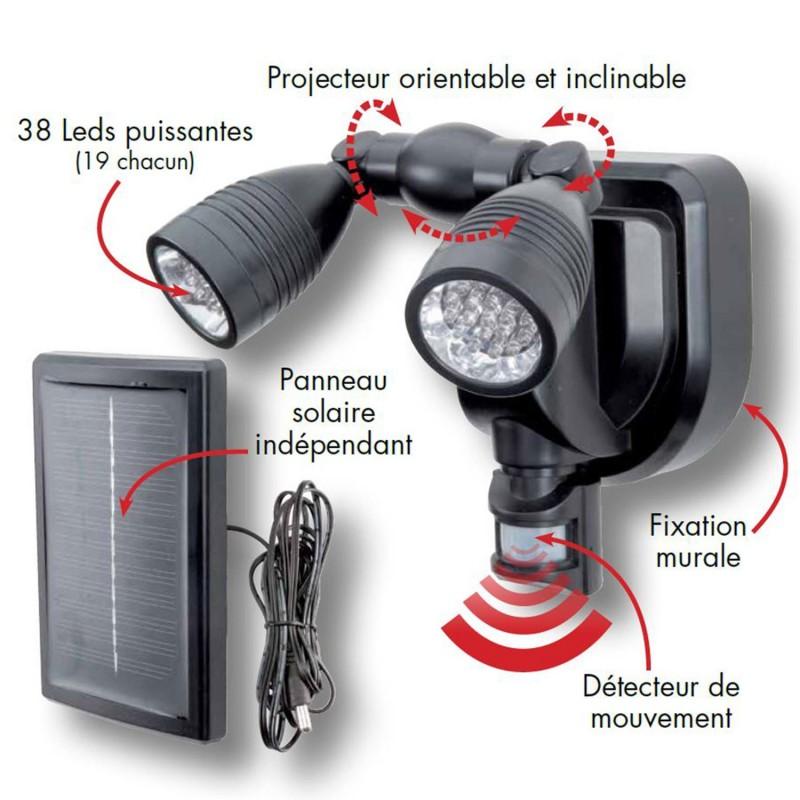 Solaire Eclairage Amazon Avec Exterieur Detecteur 3Aj45LR