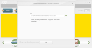 Freemake Video Converter 4.1.13.87 Crack + Serial Key 2021 (Latest)