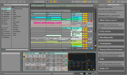 Ableton Live 10.1.18 Crack with Keygen 2020 Download (Win+Mac)