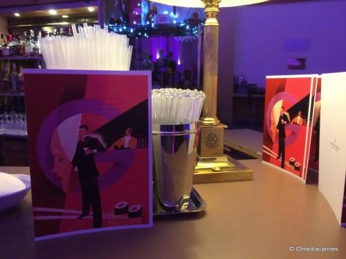 LOUNGE BAR «LE GRANT» INTERCONTINENTAL CARLTON HOTEL CANNES