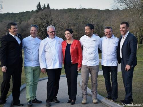 Salon Gastronoma 2017 – «Shooting» des parrains