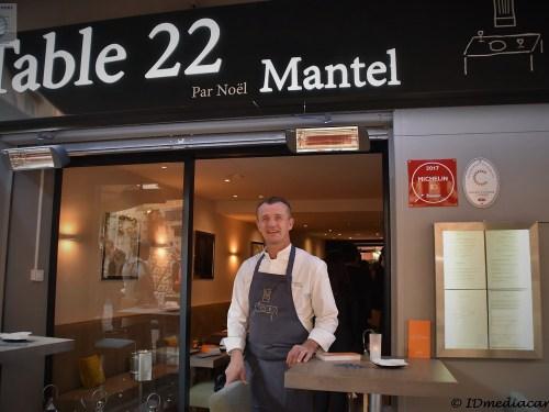 Restaurant La Table 22 – Cannes