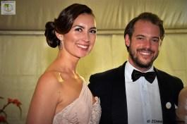 Prince Félix et la Princesse Claire de Luxembourg