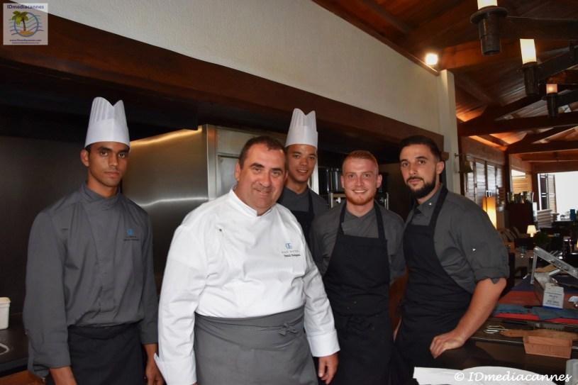 Patrick Raingeard & L'équipe du Restaurant Le Ficus