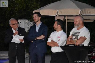 Richard Galy & Vincent Deferrières & Basile Arnaud & Philippe Etchebest